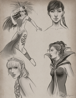 Sketches by Krista-Dunaway