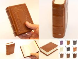 Little buddy - Leather book journal vintage by Vanyanie