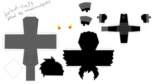 karkat paper craft template by ilovezimandgir123