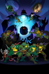 Turtles Forever Poster by E-Mann