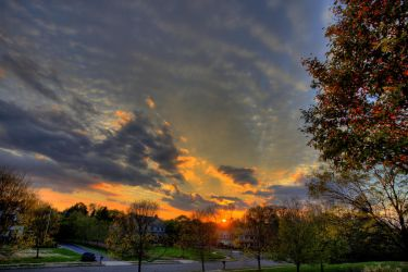 October Skyscape by ebbixx