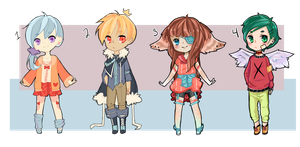 ricchisquid collab - set price [1/4 open] by squidgender
