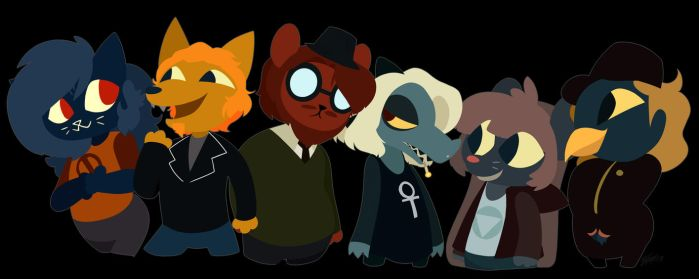 NITW Squad by ToxicSoul77