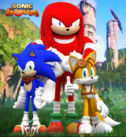 Sonic Boom Heroes! by Nibroc-Rock