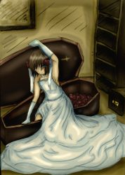 the Girl and the Coffin by UmiHoshi