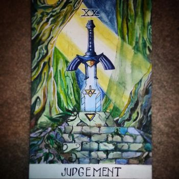 Zelda-Inspired Tarot Painting | Judgement by KenKokoszka