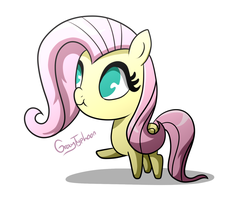 One Small Fluttershy by GrayTyphoon
