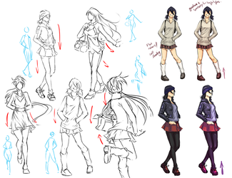 Clothes and Poses by moni158