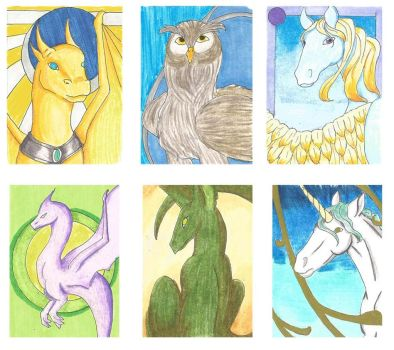 ACEO batch by purenightshade