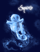 Squirtle Patronus by TheVirusAJG