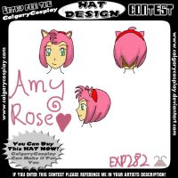 Amy Rose Hat by EXP282