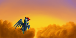 Above the Clouds by LuneBat