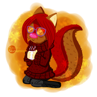 Chibi Fall Mundiena by MundienaSKD