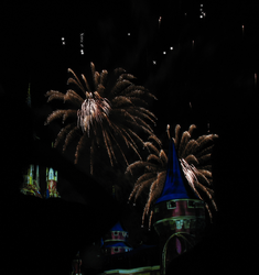Castle Fireworks Show IMG 1067 by TheStockWarehouse