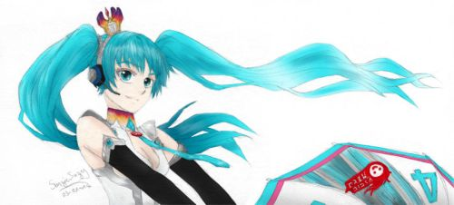 Racing Miku 2013 by SuzieSuzy