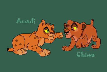 Amadi and Chiwa - The Cubs Who Could Have Been by ReddRedPanda