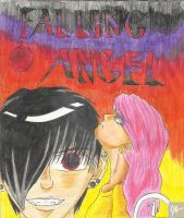 Falling Angel: Volume 1 Cover by DeathGoddess231