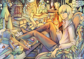 Howl's Room by Sangcoon