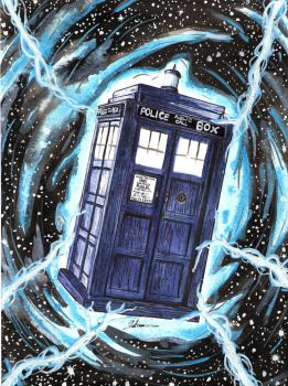 Tardis - Dr Who by DredFunn