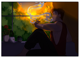 TXI: Thoughts by the Sunset by NanoColors