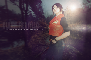 Resident Evil Code: Veronica X cosplay by VickyxRedfield