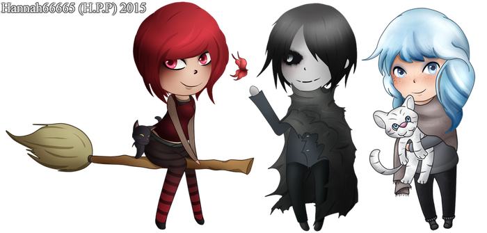 Subeta Chibi Group by Hannah66665