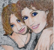 her mother's eyes---colored by srulia-nialo