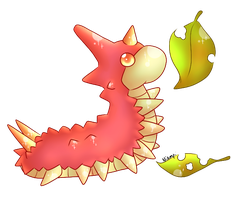 Day 6 - Fave Bug Type - Wurmple