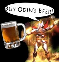 BUY ODIN'S BEER by SnD-Frostey