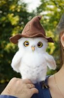 Owl Needle Felted by Lyntoys