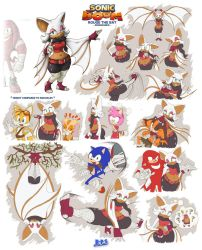 Sonic Boom Character What-ifs - Rouge (updated) by Blue-Paint-Sea