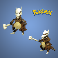 Pokemon: Cubone by retinence