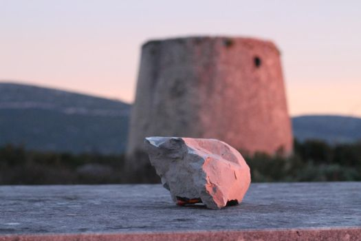 The rock and the windmill by amarto