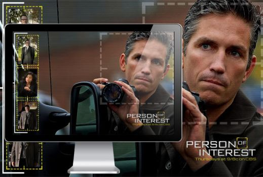 Person of Interest Desktop Wallpaper by sdwhaven