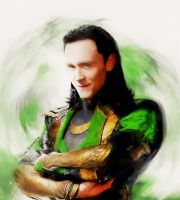 -God of mischief- by Orchidea-Blu