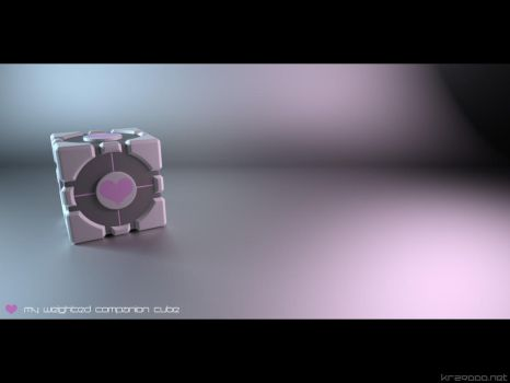 weighted companion cube by krz9000