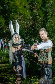 Balthier and Fran by LittlePhoenix492