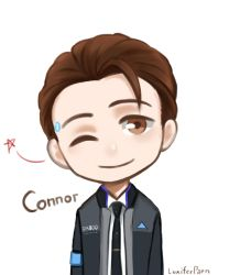 Connor (Detroit become human) by LuciferParn