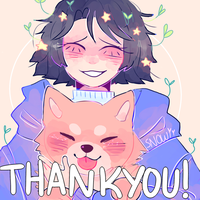 Holy heck thank you for 3700+!? by Snowiitea