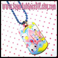 Kawaii Playground Dog Tag by wickedland