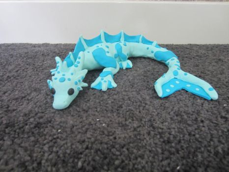 Water dragon by Dragonsculpt