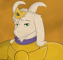 King Asriel by SkorpioPrince