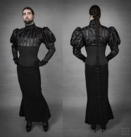 Corset Ball Outfit by BlackRoomPhoto