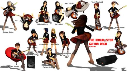 IDOLM@STER GUITAR PACK by aittel