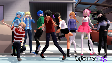 (AphmauxMMD) Lovers Lane MMD Download by WolfyDS