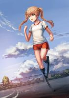Evening jog by yukira0