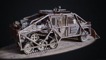Post-Apocalyptic Truck by Kn3chtRuprecht