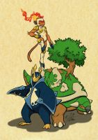 The Rulers of Sinnoh