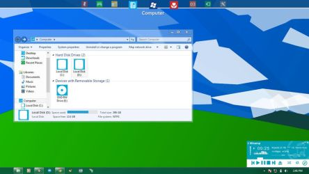 Windows 7 Customized as Windows 8 by XtiaN0705