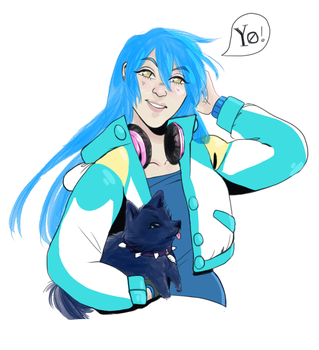 Aoba-chan by teaofrage